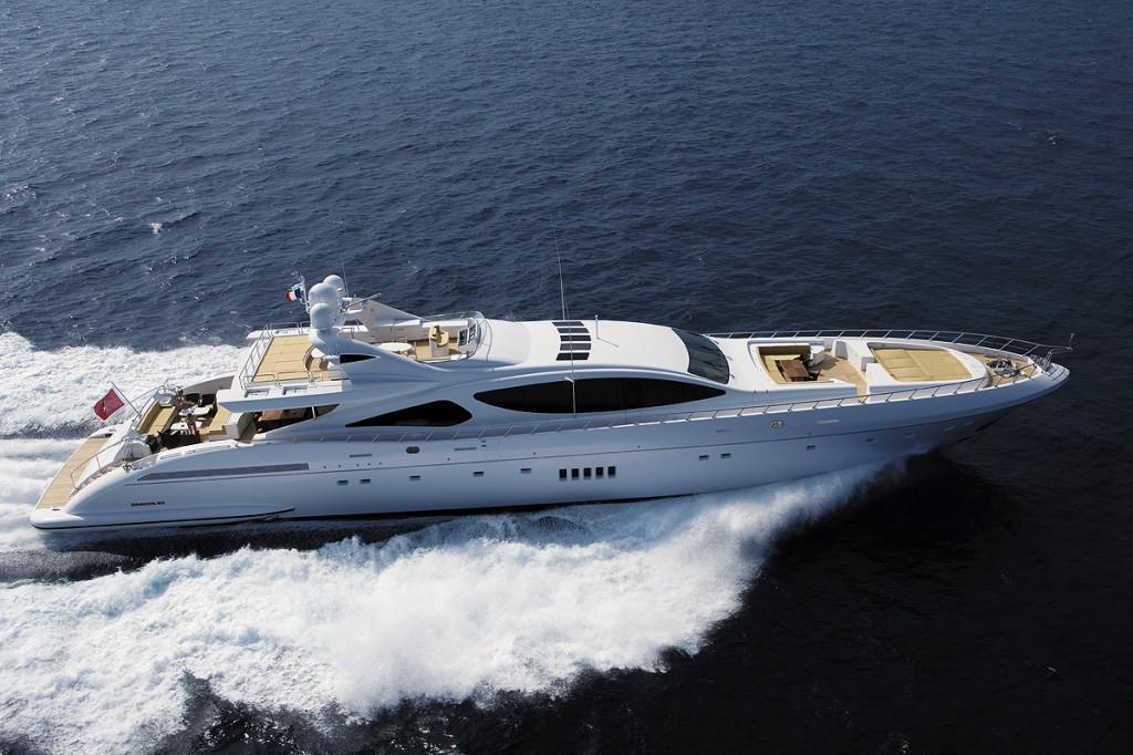 Mangusta 165 open yacht - Image by Mangusta